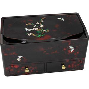 小花蝶 ティッシュボックス 小物入れ L2018046