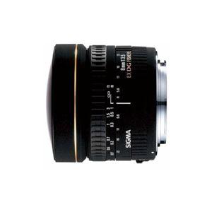 SIGMA 交換レンズ 8mm F3.5 EX DG CIRCULAR FISHEYE (キヤノンEFマウント) AF8/35EXDG-CA