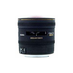 SIGMA 交換レンズ 4.5mm F2.8 EX DC CIRCULAR FISHEYE HSM (APS-C用キヤノンEFマウント) AF4.5/2.8EXDC-CA