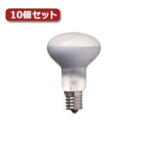 YAZAWA ミニレフ球 R50 E17 50W 2個パック10個セット RF5017502PX10