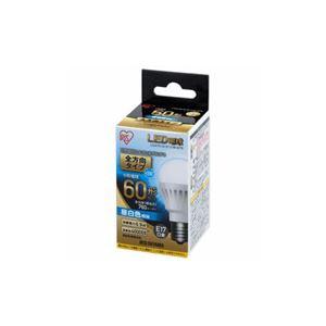 (まとめ) アイリスオーヤマ LED電球 E17口金 全方向タイプ 60形相当 昼白色 LDA7NGE17W6T5 【×3セット】