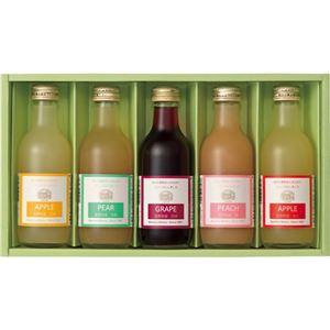 (まとめ) りんご村からのおくりもの 長野県産果汁100%ジュース詰合せ C8250048 C9247519【×2セット】