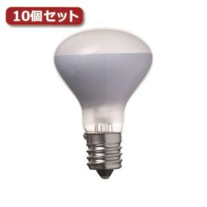 (まとめ)YAZAWA ミニレフ球 R45 E17 40W10個セット R451740X10【×2セット】