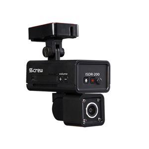 INBYTE 車内撮影2カメラ式ドライブレコーダー S-CREW ISDR-200
