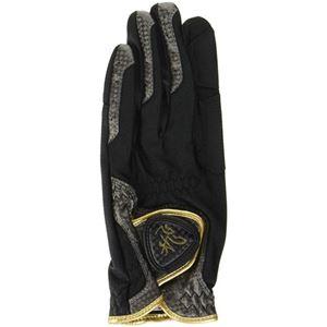 10個セット TOBIEMON R&A公認グローブ 左手着用 右利き用 黒 Mサイズ TBGV-BMX10