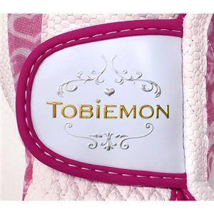 5個セット TOBIEMON R&A公認レディース ストレッチグローブ ホワイトピンク Lサイズ T-LG-LX5