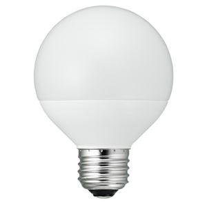5個セット YAZAWA G70ボール形LED 40W相当 E26L色 LDG4LG70X5