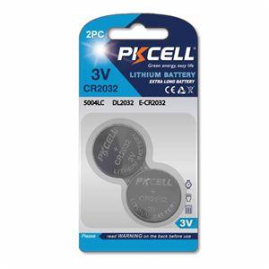 25個セット PKCELL ボタン電池 CR2032 2個入り CR02032-2BX25