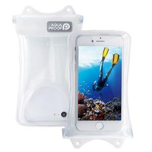 (まとめ)エレコム スマートフォン用防水・防塵ケース/水没防止タイプ/Sサイズ/ホワイト P-WPSF01WH【×2セット】