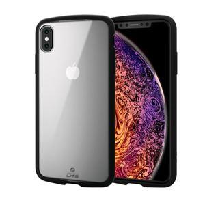 (まとめ)エレコム iPhone XS Max/TOUGH SLIM LITE/クリア/クリア PM-A18DTSLCCR【×2セット】