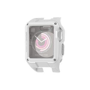 (まとめ)エレコム Apple Watch 38mm/ZEROSHOCKケース/ホワイト AW-38ZEROWH【×2セット】