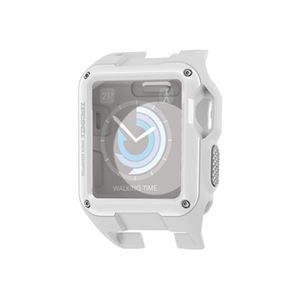 (まとめ)エレコム Apple Watch 42mm/ZEROSHOCKケース/ホワイト AW-42ZEROWH【×2セット】