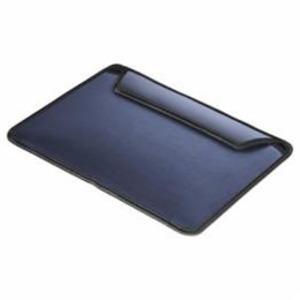 (まとめ)BUFFALO バッファロー iPad Pro専用ヘアライン調スリーブケース ブルー BSIPD15LCLSLBL【×2セット】