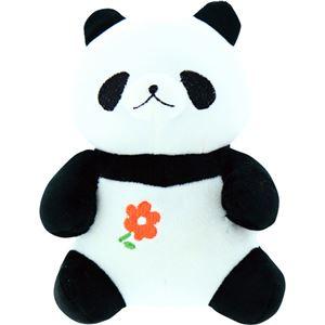 (まとめ)もちっとぐるみ パンダ C9079657【×2セット】