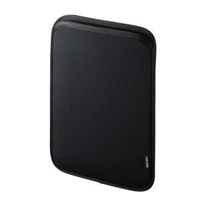 (まとめ)サンワサプライ ネオプレンスリップインタブレットPCケース(10.1型) PDA-TABS10BKN【×2セット】