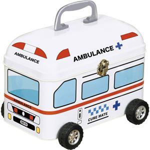 (まとめ)キュアメイトティンカー救急箱 救急車 C9073576【×2セット】