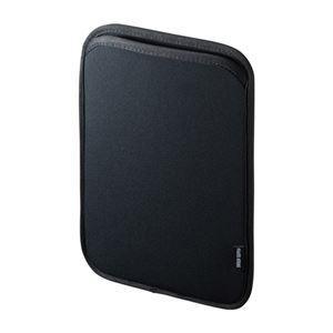 (まとめ)サンワサプライ スリップインケース(iPad9.7インチ) PDA-IPAD1003BK【×2セット】