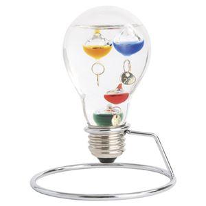 (まとめ)ガラスフロート温度計 電球 M80109715【×2セット】