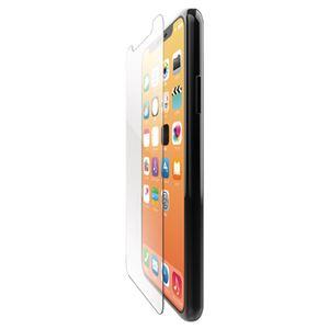(まとめ)エレコム iPhone XS/ガラスフィルム/0.33mm/ブルーライトカット PM-A18BFLGGBL【×2セット】