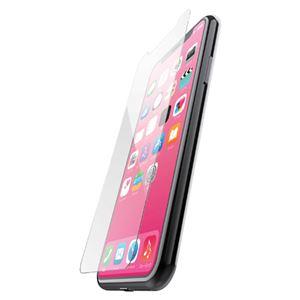 (まとめ)エレコム iPhone XR/ガラスライクフィルム/ユーピロン/ブルーライトカット PM-A18CFLUPBL【×2セット】
