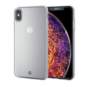 (まとめ)エレコム iPhone XS Max/ソフトケース/ストラップホール付/クリア PM-A18DUCTSTCR【×2セット】