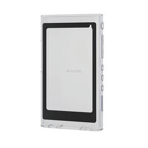 (まとめ)エレコム Walkman A 2018 NW-A50シリーズ対応シリコンケース/クリア AVS-A18SCCR【×5セット】