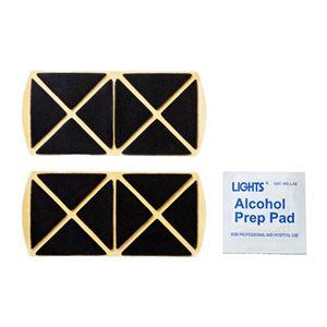 (まとめ)サンワサプライ 交換用テープ・アルコールパッド(2枚・1枚入り) QL-E94【×5セット】