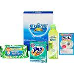 (まとめ)まっ白・消臭 バラエティ洗剤セット L3154528【×5セット】