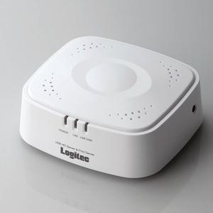 Logitec(ロジテック) 10/100Mbps USB HDD共有サーバ&プリントサーバ LAN-HDPS-U2