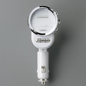 Logitec(ロジテック) 車載用FMトランスミッター ホワイト LAT-FM311UWH