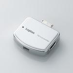 Logitec(ロジテック) 充電機能搭載 WALKMAN専用FMトランスミッター(ホワイト) LAT-FMWS01WH