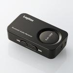 Logitec(ロジテック) Bluetooth2.1対応 オーディオレシーバー(ブラック) LBT-AR200C2BK