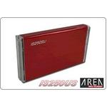 AREA(エアリア) 2.5インチ外付けハードディスクケース IS250SU SD-IS250SU-RD レッド