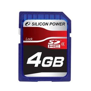 SILICON POWER(シリコンパワー) SDカード SDHC Class4 4GB
