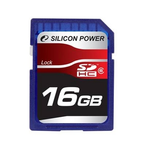 SILICON POWER(シリコンパワー) SDカード SDHC Class6 16GB