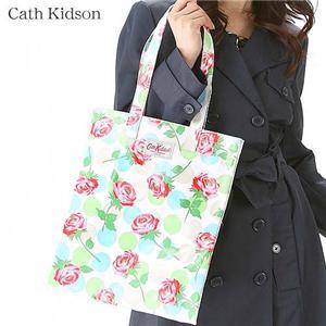 Cath Kidson オイルクロスNEWラージャーサイズトブックバッグ MiniStrawberry/198622