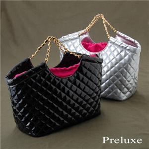 Preluxe キルティングバッグ PL-4501  ブラック