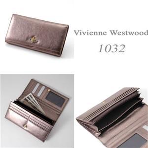 Vivienne Westwood 長財布 1032V NAPPA ブロンズ
