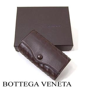 BOTTEGA VENETA キーケース 120742 2040 ダークブラウン