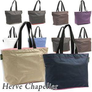 Herve Chapelier(エルベシャプリエ) トートバッグ 1024N BK×GRY(ブラック×グレー)