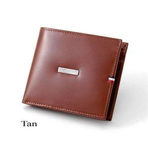 TOMMY HILFIGER (トミーフィルフィガー) 二つ折財布 DEERFIELD 0096-5169 Tan