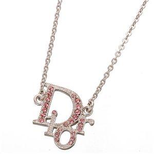 Christian Dior(クリスチャン ディオール) ベルトデザインネックレス D21845/ロゴ Rose
