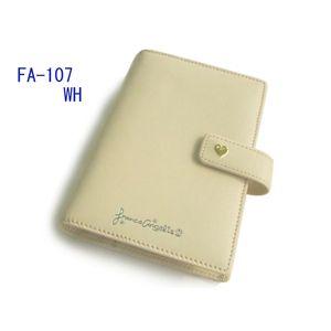 Franca Angelis(フランカアンジェリス) システム手帳 FA-107 WHITE
