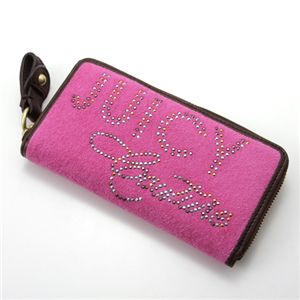 JUICY COUTURE(ジューシークシュール) ラウンドファスナー長財布 701・Flamingo