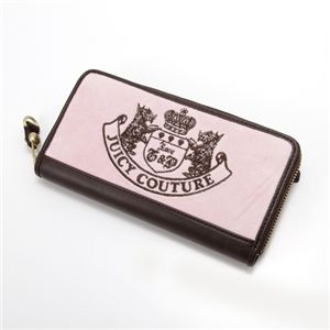JUICY COUTURE(ジューシークチュール)  ラウンドファスナー長財布 700【A】Nardels/Depp