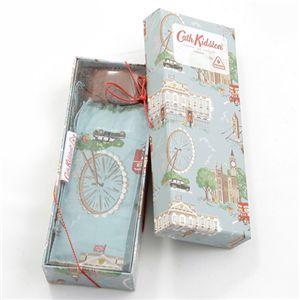 Cath Kidston(キャスキッドソン) ギフトボックス入 折り畳み傘 TINY3 Gift Box・London Print