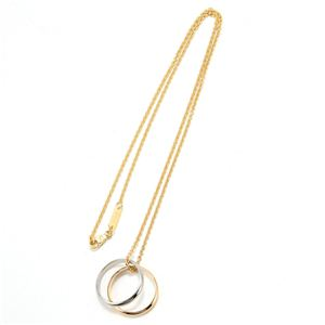 DOLCE&GABBANA(ドルチェ&ガッバーナ) ネックレス ダブルリング Gold WAC501 W0001 87583