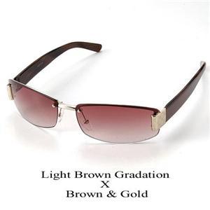 GUCCI サングラス 1799 GG1799-NQ5/YT ライトブラウングラデーション×ブラウン&ゴールド