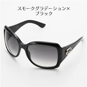 GUCCI サングラス 日本未入荷2007年モデル 2965-807/LF スモークグラデーション×ブラック