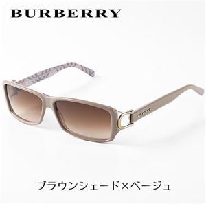 BURBERRY サングラス 4008A-3021/13 ブラウンシェード×ベージュ